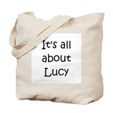 Unique Lucy Tote Bag
