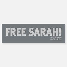 Free Sarah Palin! Bumper Bumper Bumper Sticker