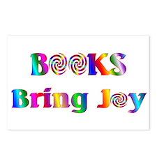 Books Bring Joy Postcards (Package of 8)
