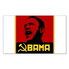 Obama Party Loyalist Rectangle Decal