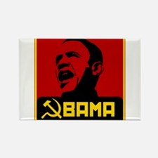 Obama Party Loyalist Rectangle Magnet