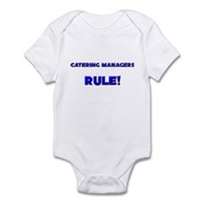 Catering Managers Rule! Infant Bodysuit