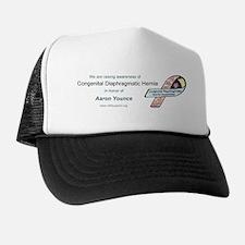 Aaron Younce CDH Awareness Ribbon Trucker Hat