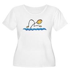 Stick figure swimmer T-Shirt