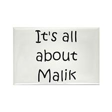 Funny Malik Rectangle Magnet