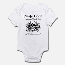 Pirate Thank You Infant Bodysuit