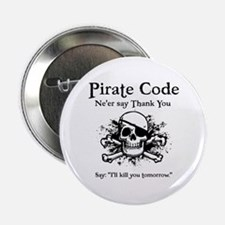 "Pirate Thank You 2.25"" Button"
