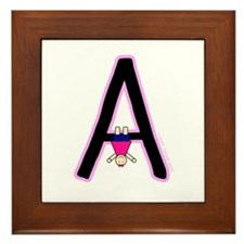 A (Girl) Framed Tile