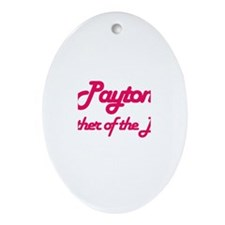 Payton - Mother of Bride Oval Ornament
