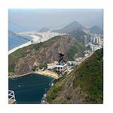 Rio de janeiro brazil Tile Coasters