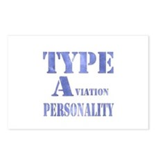 Type A(viation) Personality Postcards (Package of