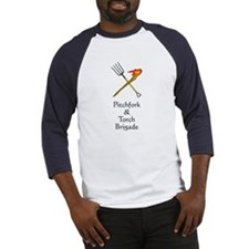 Pitchfork and Torch Baseball Jersey