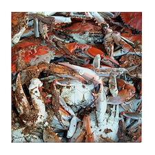 Blue Crabs Tile Coaster
