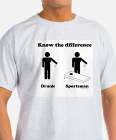 Drunk or Sportsman T-Shirt