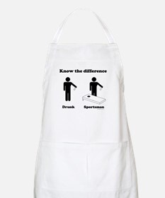 Drunk or Sportsman BBQ Apron