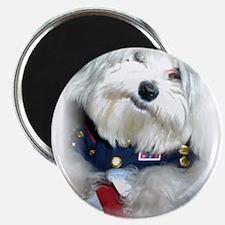 Patriotic Puppy Magnet