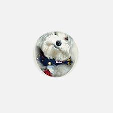 Patriotic Puppy Mini Button (10 pack)