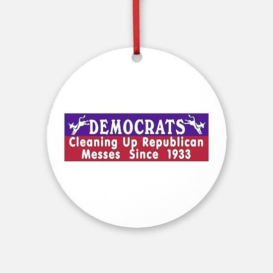 Democrats  Keepsake (Round)