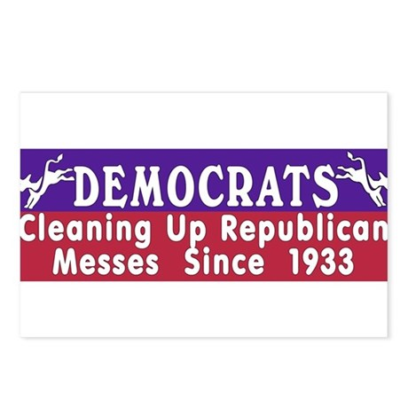 Democrats Postcards (Package of 8)