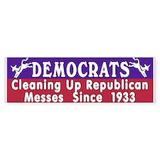 Democrats Bumper Bumper Sticker