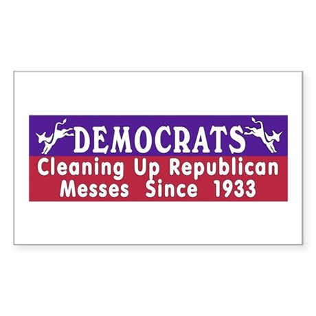 Democrats Rectangle Sticker