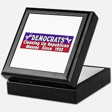 Democrats Keepsake Box