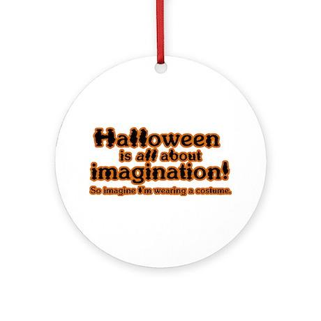 HW Imagination Ornament (Round)