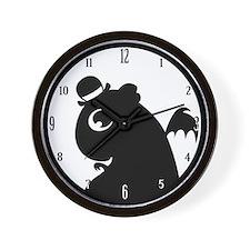 Mr. Friskett Logo Wall Clock