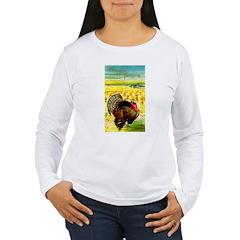 Harvest Thanksgiving Women's Long Sleeve T-Shirt