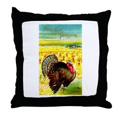 Harvest Thanksgiving Throw Pillow