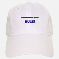 Careers Information Officers Rule! Baseball Baseball Cap