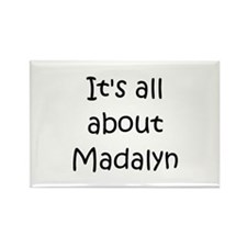 Funny Madalyn Rectangle Magnet (10 pack)