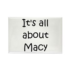 Macie Rectangle Magnet (10 pack)