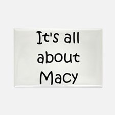 Funny Macy Rectangle Magnet