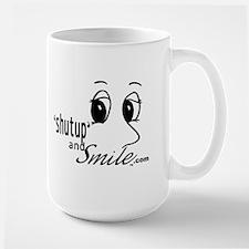 Shut Up and Smile Mug