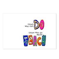 do more TEACH Postcards (Package of 8)