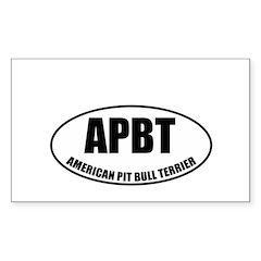 APBT Rectangle Decal