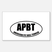 APBT Rectangle Decal