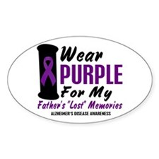 Father's Lost Memories 2 Oval Decal