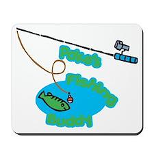 Pake's Fishing Buddy Mousepad