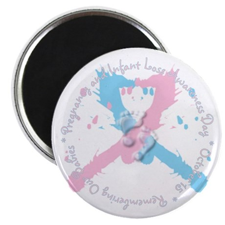 "Pregnancy and Infant Loss Awa 2.25"" Magnet (100 pa"