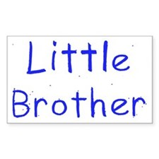 Little Brother Rectangle Bumper Stickers