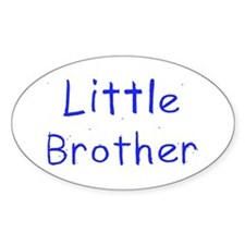 Little Brother Oval Bumper Stickers