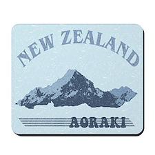 Aoraki New Zealand Vintage Mousepad