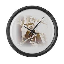 Cute Woman president Large Wall Clock