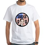 Obama 08 White T-Shirt