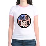 Obama 08 Jr. Ringer T-Shirt