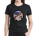 Obama 08 Women's Dark T-Shirt