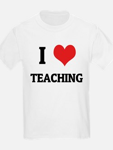 I Love Teaching Kids T-Shirt