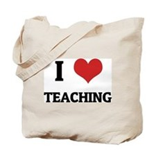 I Love Teaching Tote Bag